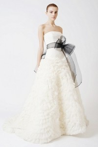Eleanor brides dress Vera Wang