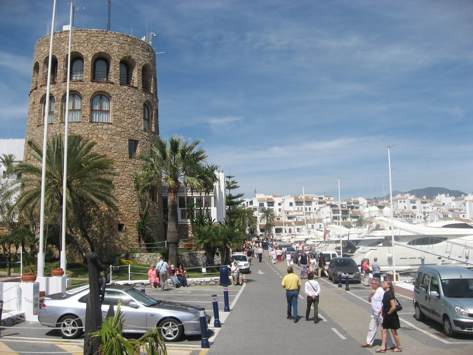 Marbella rich girls holiday spot rich club girl - Puerto banus marbella ...