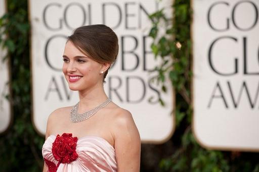 Natalie Portman Golden Globe 2011