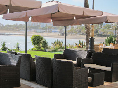 pizzeria belvedere puerto banus marbella spain terrace