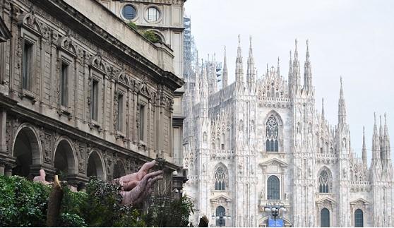 Duomo Milan Center Cathedral