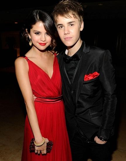 Selena Gomez and Justin Bieber Oscars 2011