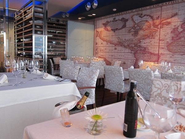 el gran gatsby restaurant wine cellar alternative view