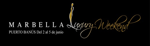 marbella luxury weekend official event logo