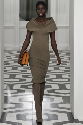 victoria beckham aw2011 dress