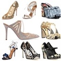 Party sandals, high heels, pumps, shoes, flats