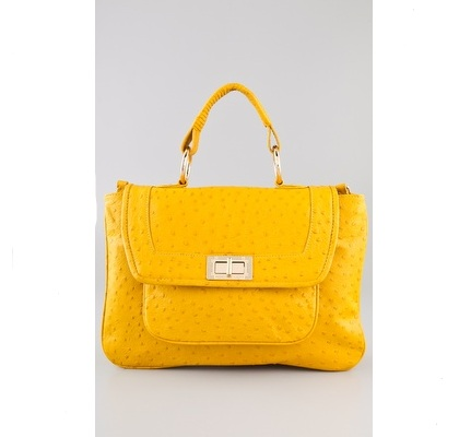 Rebecca Minkoff yellow handbag