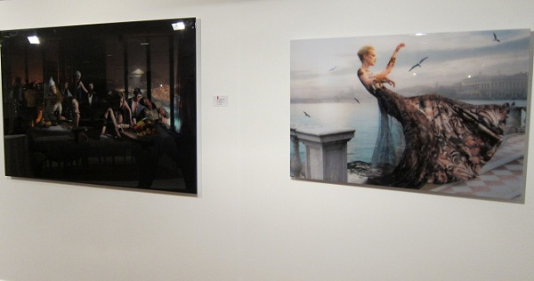 red penguin art gallery in marbella