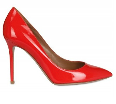colorful high heels o jour suede and leather d'orsay pumps