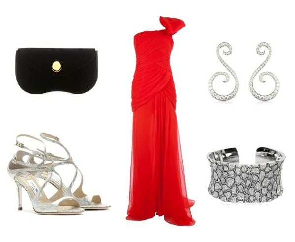 cannes film festival red carpet red dress style set