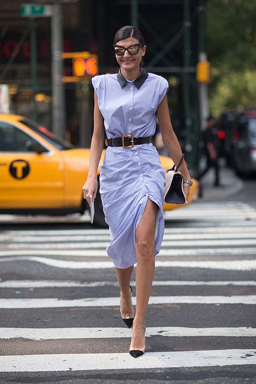 Giovanna Battaglia new york 2014 street style inspiration
