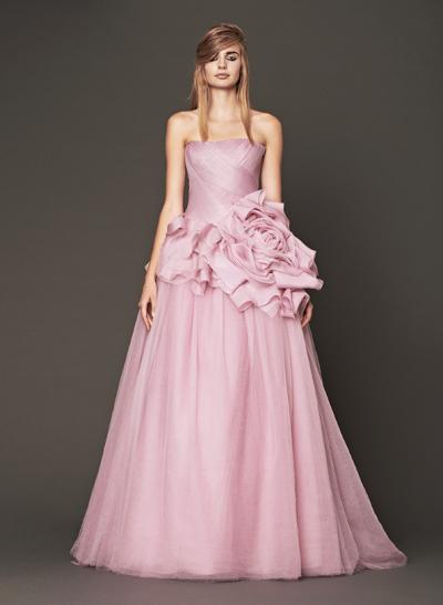 Vera Wang Bridesmaid Dresses Pink