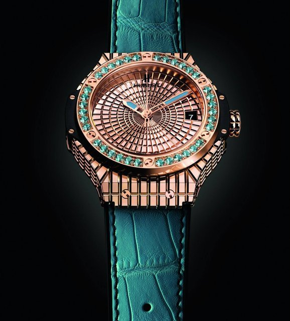"Hublot Big Bang Caviar ""Lady 305"" exclusive watch"