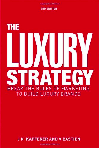 cover of the book about luxury strategy