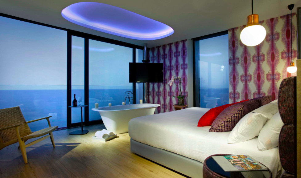 Hard Rock Hotel Room with sea views in Ibiza