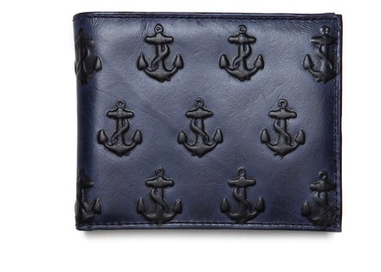 Embossed anchor wallet by Jack Spade a perfect Christmas gift for man