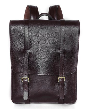 Lotuff Leather Backpack for men