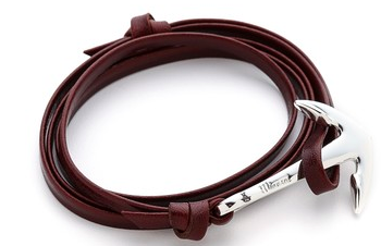 Miansai Anchor Leather Bracelet Christmas gift idea for men