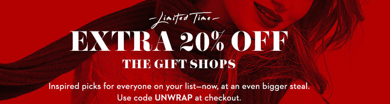 Gilt Christmas gift shop for everyone on your list