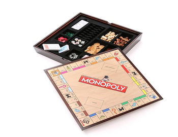 Monopoly game as a Christmas present