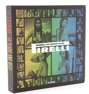 Taschen 50 years of Pirelli calendar as a great gift idea for men