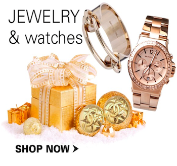 Jewelry and watches as a luxury Christmas gift idea