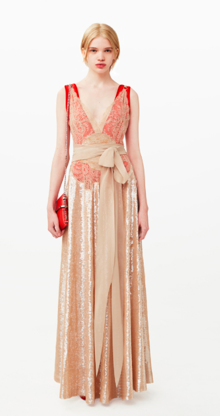 Givenchy Great Gatsby style dress chosen for Keira Knightley