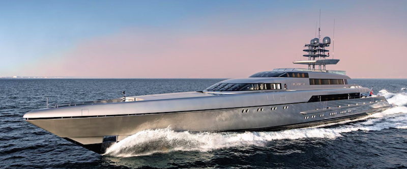 Silver Fast luxury yacht at Monaco Yacht Show 2015