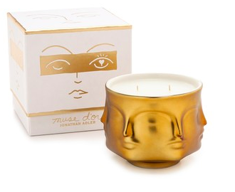 Jonathan Adler Muse d'Or Candle luxury Christmas gift idea