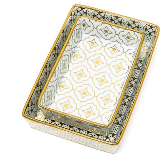Kashmir Nesting Trays luxury Christmas gift idea for home and parents
