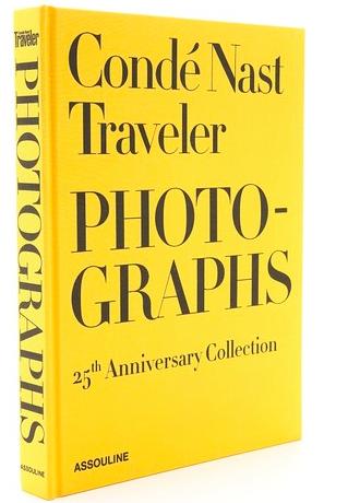 Conde Nast Traveler Photographs collectible gift book
