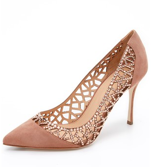 Sergio Rossi pumps with crystals