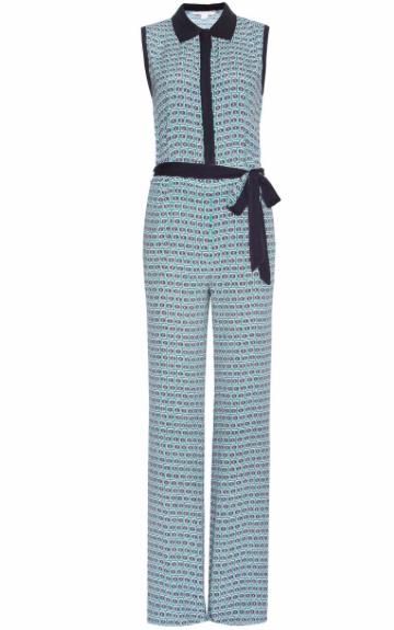 DIANE VON FURSTENBERG jumpsuit to wear to monaco yacht show