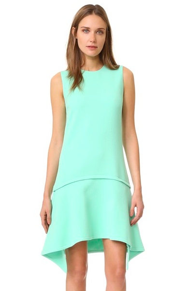 A drop-waist Victoria Victoria Beckham dress