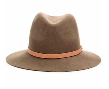 Floppy brim wool fedora hat by rag & bone