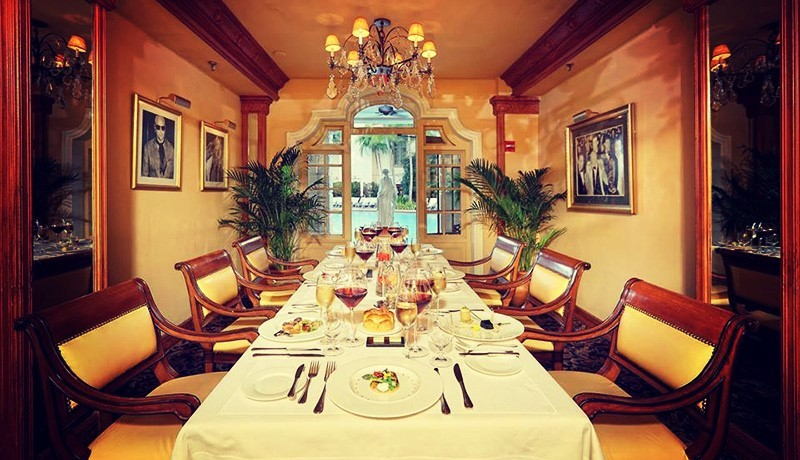 Palm d'Or French luxury restaurant in Miami