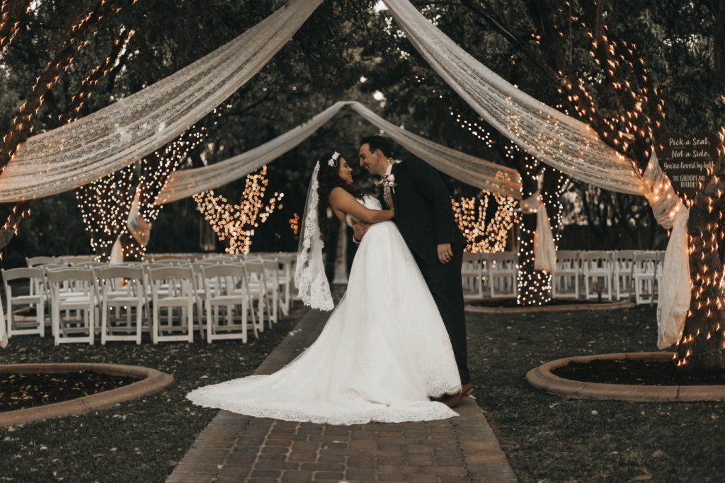 luxurious wedding venue