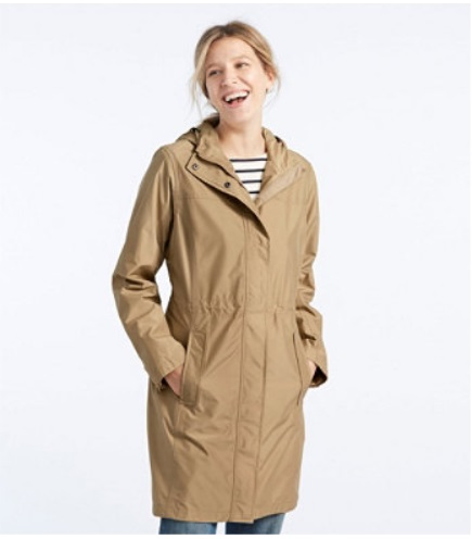 H2OFF Raincoat, Mesh-Lined nude colour